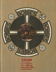 Powell Peralta - T-Bones Wheels Ad (1988) < Skately Library