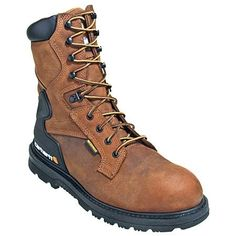 Carhartt Boots: Men's Safety Toe EH Oil-Tanned Leather Work Boots CMW8200,    #Boots,    #CMW8200,    #CarharttBoots