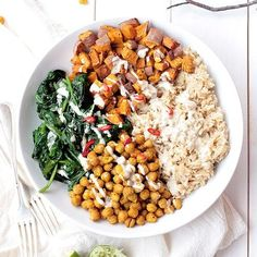 Chickpea, Spinach