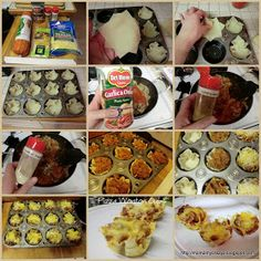 Running away? I'll help you pack.: Party Food .... Pizza Wonton Cups
