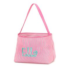 A personal favorite from my Etsy shop https://www.etsy.com/listing/227273996/pink-easter-basket-monogram-easter