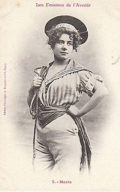 Les Femmes de lAvenir   1902 les femmes de lavenir phototypie bergeret 16 photo histoire