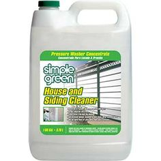 Simple Green® House and Siding Cleaner - Pressure Washer Concentrate - A powerful house, siding, and roof cleaner! #SimpleGreen
