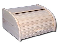 Chlebak drewniany duży naturalny