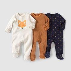 Pyjama coton interlock (lot de 3) 0 mois- 3 ans R Edition