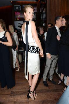 Toni Garrn in Chanel | Miami Art Basel 2014