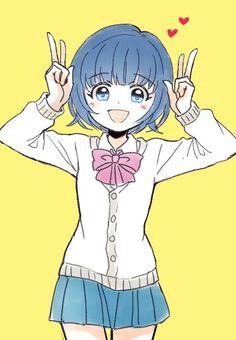 Aoi Sorano ^^ Manga Anime Girl, Anime Art, Inazuma Eleven Go, Old Anime, Best Waifu, Character Design Inspiration, Cute Wallpapers, Anime Characters, Chibi