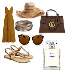 """""""Untitled #97"""" by hilal-arslan on Polyvore featuring Loup Charmant, Filù Hats, Sonoma life + style, Topshop, Gucci and Chanel"""