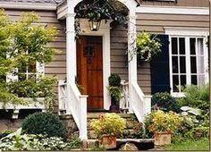 Garden Stair Entry