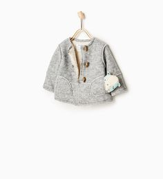 Double-faced coat-OUTERWEAR-Baby girl-Baby | 3 months - 3 years-KIDS | ZARA United States