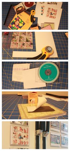 Upcycle old CD cases & make into photo magnets, coasters, wet erase, or dry erase boards. Smart DIY