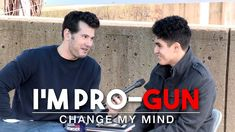REAL CONVERSATIONS: I'm Pro-Gun (2nd Edition) | Change My Mind - YouTube