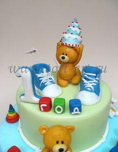 Торт на годик мальчику кемерово