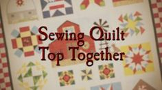 Vídeos de Quilt in a Day on Vimeo
