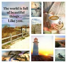 The world is ful of beautiful things...