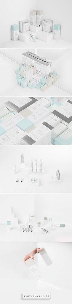Boine Clinic beauty packaging designed by Sabbath - http://www.packagingoftheworld.com/2015/07/boine-clinic.html