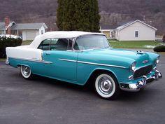 1955 Chevy Bel Air convertible  $105,000