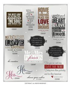DIGITAL DOWNLOAD ... in AI, EPS, GSD, & SVG formats @ My Vinyl Designer #weddingsubwayart
