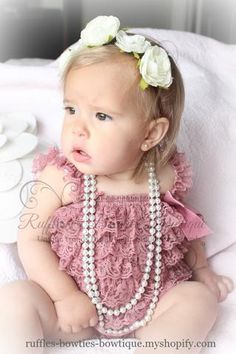 51c8bc5d0c4e Birthday Girl Boutique. Petti RomperBaby Ruffle ...