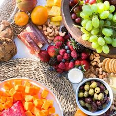 Grazing Table Gallery – Table & Thyme Mini Crab Cakes, Party Food Platters, Famous Chocolate, Grazing Tables, Food Displays, Brunch Party, Meat And Cheese, Seasonal Food, Backyard Bbq