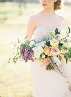 Lilac Wedding Bouquet Ideas | Brides.com