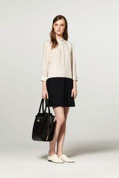 Drop Dress in White/Black, Tote in Black. #philliplimfortarget, in stores September 15.