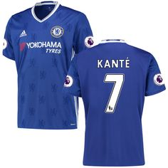 N'Golo Kante Chelsea adidas 2016/17 Home Replica Jersey - Blue - $68.99 https://tmblr.co/ZsHPtc2Pa3h-s