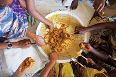 In Senegal, generous helpings of fragrant dishes like slow-cooked stew and mashed vegetables welcome any guest to the country's fare.