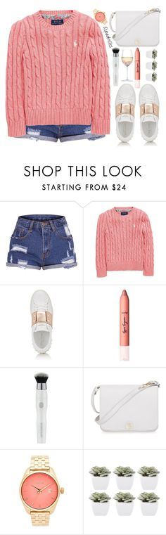 """""""style"""" by lena-volodivchyk ❤ liked on Polyvore featuring Ralph Lauren, Valentino, Furla, Nixon, Abigail Ahern and RabLabs"""