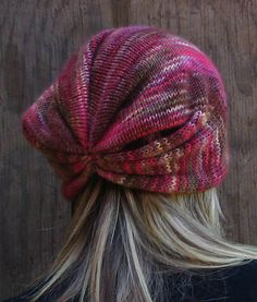 Awesome form of beanie!