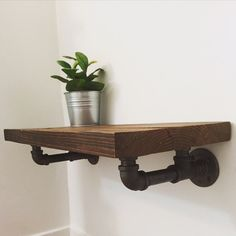 Industrial Shelf Brackets by JSReclaimedWood on Etsy