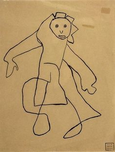 Untitled  Gaston Chaissac (French, 1910–1964)    1945-46. Ink and pencil on paper