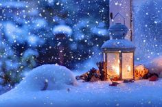 mood Christmas winter snow bokeh wallpaper background
