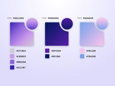 Free Pao Gradient - February by Gabriel Avédikian on Dribbble Palette Pastel, Flat Color Palette, Colour Pallette, Colour Schemes, Ui Color, Colour Board, Gradient Color, Design Color, Graphic Design Inspiration
