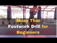 Basic Muay Thai Footwork Drill - Featuring Natasha Sky - YouTube
