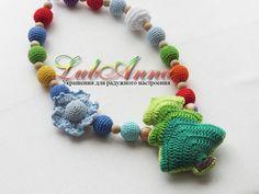 Вязаные украшения от lubаnna (слингобусы для малышей) Марсала