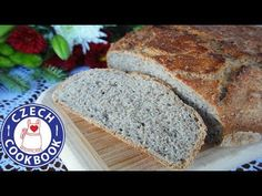 Simplified - Food and Drink Rye Bread Recipes, Czech Recipes, English Food, Bread Rolls, Dry Yeast, Cookbook Recipes, Food Videos, Good Food, Homemade