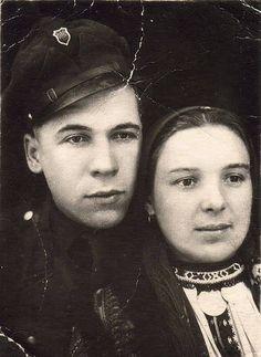 Повстанська пара - підпільники Петро та Ганна Танасійчуки, Ukraine, from Iryna