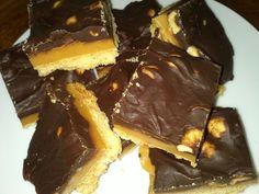 Шоколад и карамель песочный или Миллионер - торт шотландцы