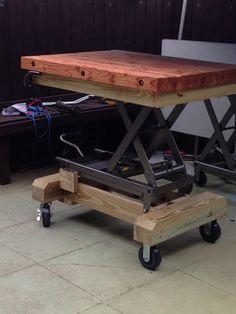 Adjustable work bench!