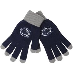 Penn State Nittany Lions Solid Knit Gloves - $9.99