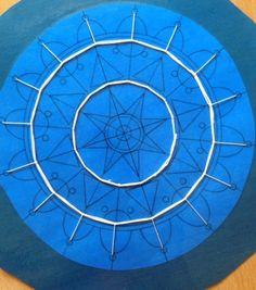 Pag Lace - Linda Dumas project one Needle Tatting, Needle Lace, Bobbin Lace, Hardanger Embroidery, Lace Embroidery, Embroidery Stitches, Tenerife, Loom Crochet, Loom Knitting