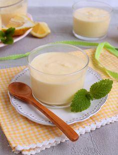 Nem acredito que é saudável!: Mousse de lemon curd (sem açúcar, sem glúten). Lemon curd mousse (sugar and gluten free)