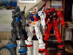 RG #Gundam RX-78-2, Casval and C3