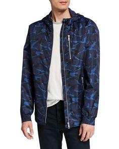 Slate & Stone Men's Camo Print Wind-resistant Jacket In Green Pattern Camo Jeans, Slate Stone, Parka Coat, Green Pattern, Sports Jacket, Camo Print, Green Jacket, Quilted Jacket, Bomber Jacket