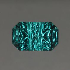 Indicolite Tourmaline gemstone Love this one. So peaceful. Minerals And Gemstones, Rocks And Minerals, Stones And Crystals, Gem Stones, Rare Gems, Mineral Stone, Tourmaline Gemstone, John Dyer, Rocks And Gems
