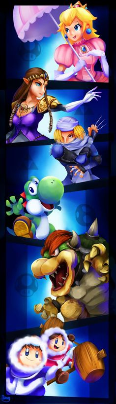 Smash Brothers Veterans.2 by zgul-osr1113 on DeviantArt