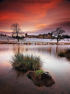 Alnwick Castle (Northumberland, England) by Stu Patterson / 500px Northumberland Castle, Alnwick Castle, Northumberland England, Beautiful World, Beautiful Places, Winter Szenen, Winter Light, Landscape Photography, Travel Photography