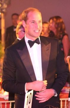 Prince William, Duke of Cambridge attends the Tusk Trust 25th Anniversary Ball at Syon House, Brentford, Middlesex, UK, on the 17th September 2015.