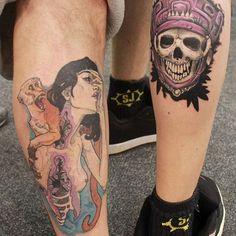 #tattoo #tattoos #instatattoo Skull, Tattoos, Instagram Posts, Tatuajes, Tattoo, Japanese Tattoos, Tattoo Illustration, Skulls, A Tattoo